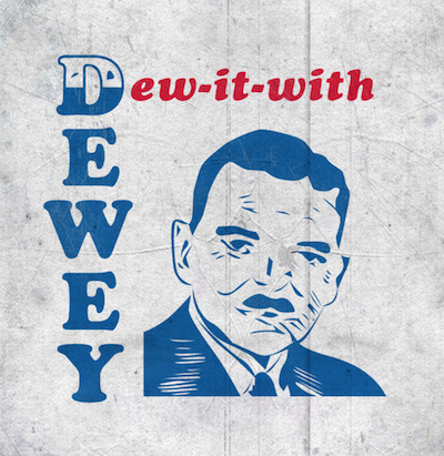 "Le T-shirt ""Dew it with Dewey"", l'un des premiers T-shirts imprimés (1948)"