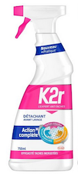 Le détachant avant-lavage de K2r