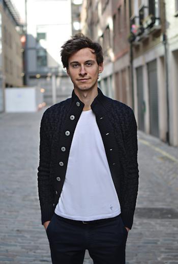 T-shirt blanc (homme) de qualité - Guerric de Ternay