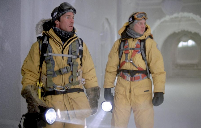 La parka Canada Goose dans le film, Le Jour d'Après