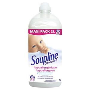 Adoucissant Soupline, certainement la photo de bébé la plus connue en France