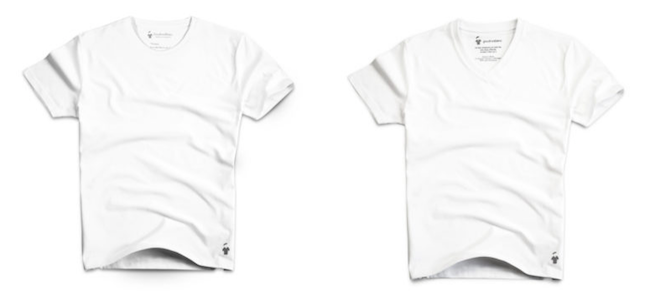 T-shirts blancs pour homme GoudronBlanc