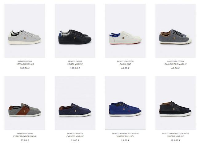 Collection de sneakers pour homme Faguo