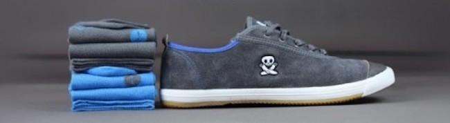Sneakers Faguo et chaussettes Archiduchesse