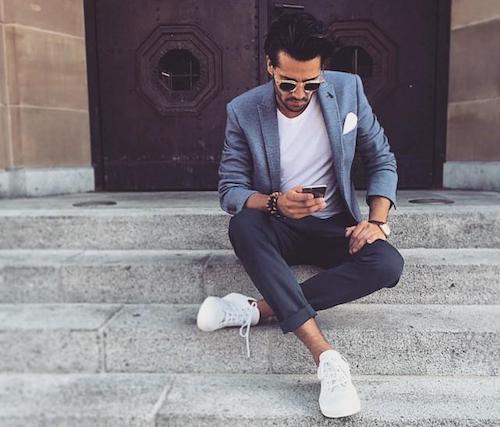 Blazer : Comment bien porter veste et T shirt avec style