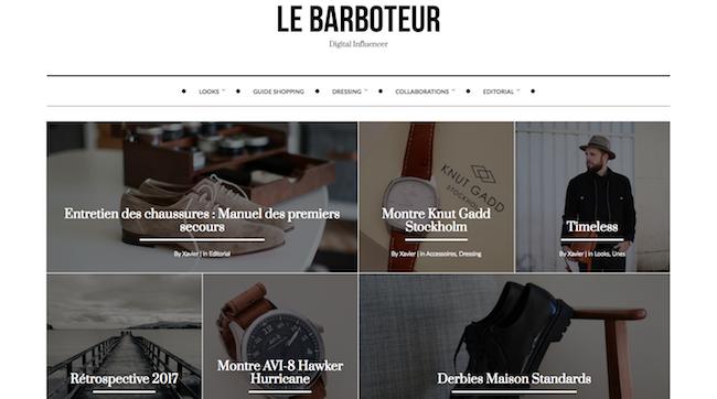 Le Barboteur - Blog de mode pour homme