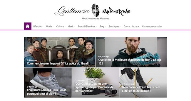 Blog lifestyle homme - Genleman Modern
