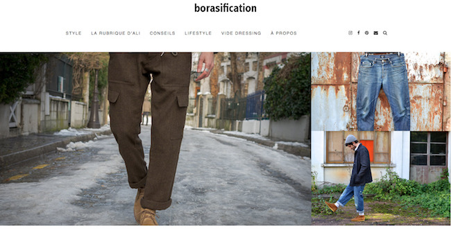 Borasification - Blog de mode masculine