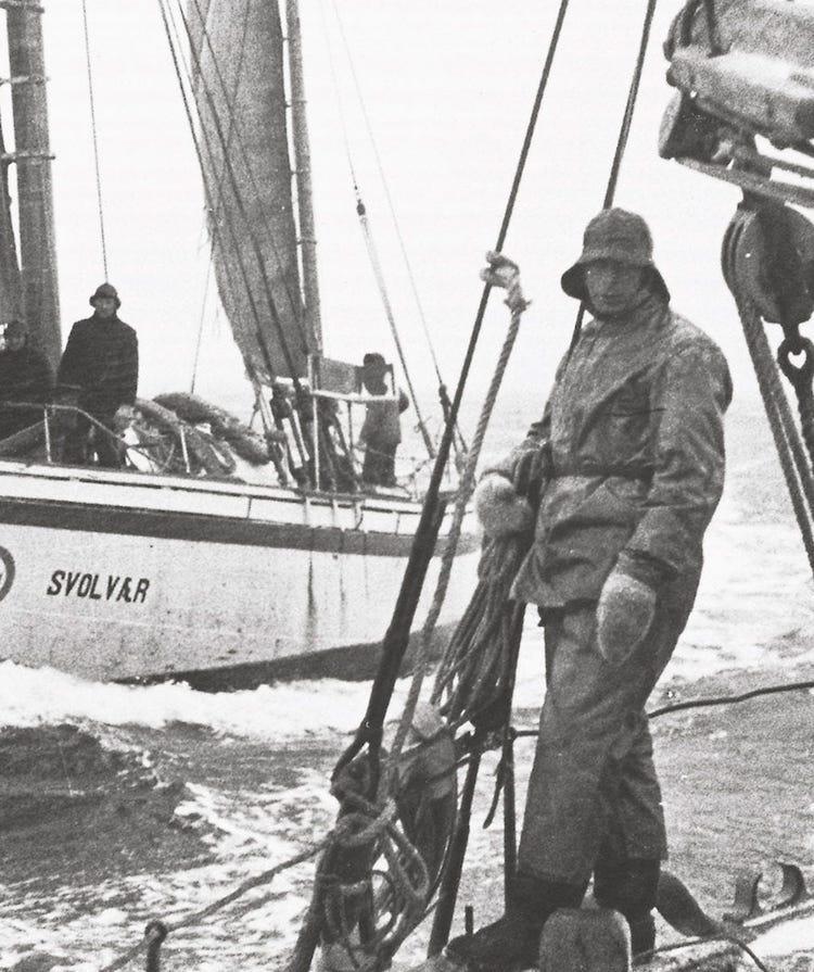 Histoire du ciré - Helly Hansen