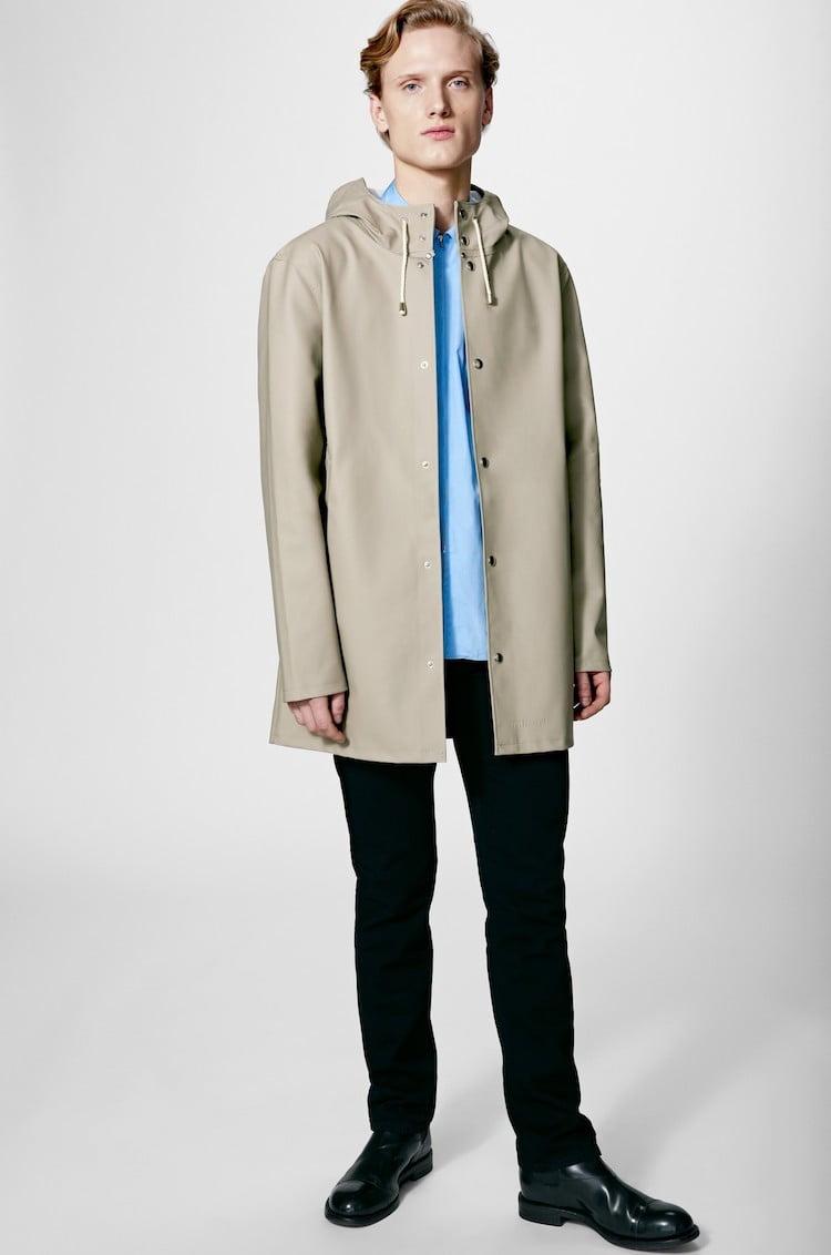 Manteau beige pour homme - Stutterheim