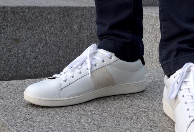 Les sneakers blanches Hosta de Faguo