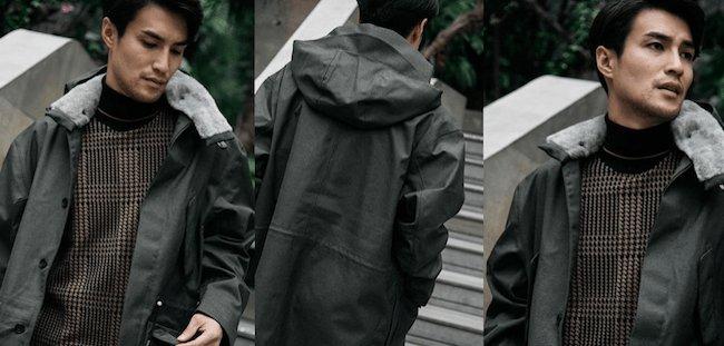 Veste de pluie pour homme - Marque Norwegian Rain