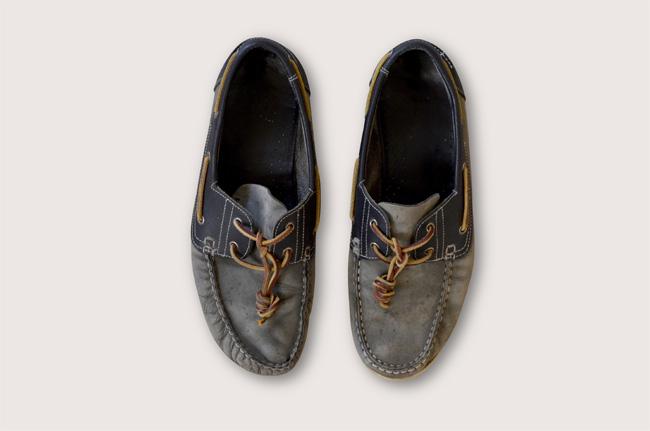 entretien chaussures bateau
