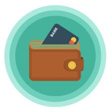 Meilleur portefeuille et porte carte