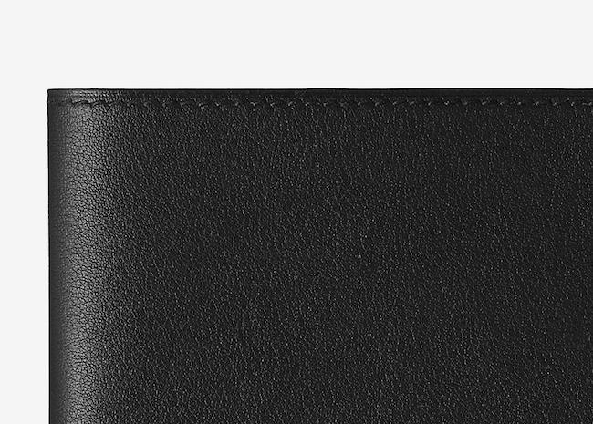 Portefeuille en cuir d'Hermès