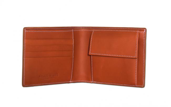 Portefeuille intégrant un porte-monnaie (Ateliers Auguste)