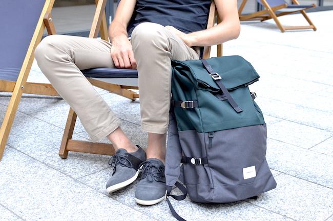 Le sac à dos Bernt de la marque Sandqvist