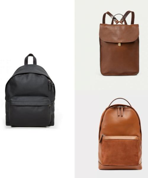 Les sacs à dos en cuir pour homme