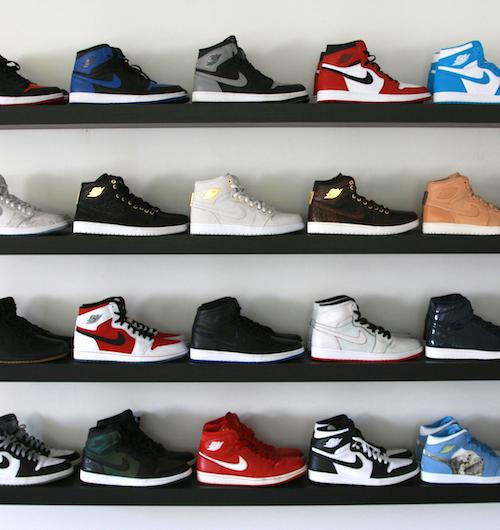 Collection de sneakers Air Jordan de Nike