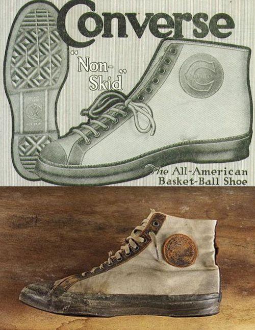 Histoire de l'invention des sneakers - Converse (1917)