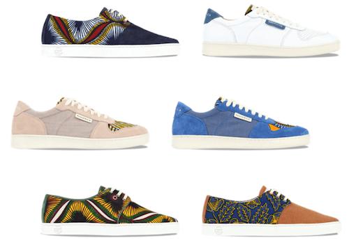 Marques de sneakers de la marque Panafrica (2020)