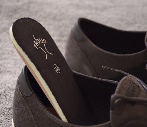 Semelle intérieure des sneakers Faguo