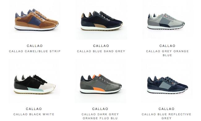 Les sneakers Piola ont un style plus chargé