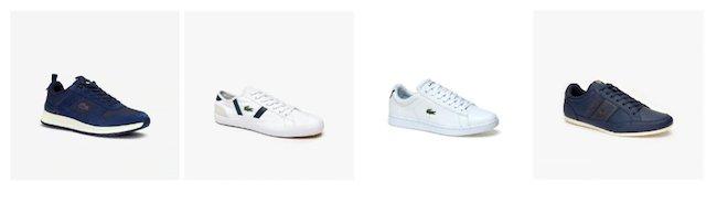 Lacoste propose de nombreux modèles de sneakers pour homme
