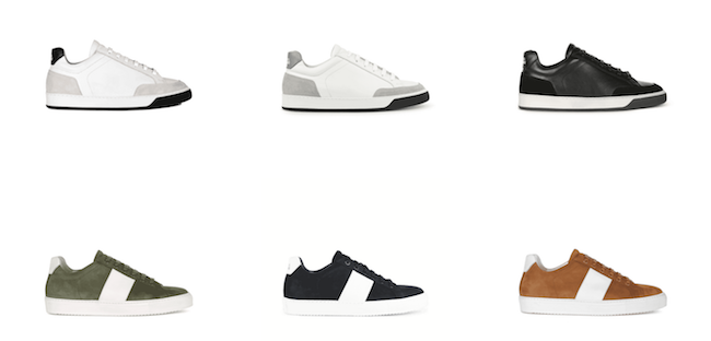 National Standard, des sneakers au look très minimaliste