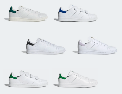 Sneakers de la marque Stan Smith d'Adidas
