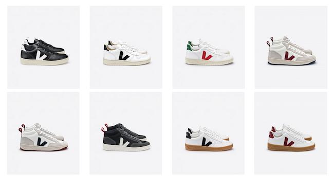 Les sneakers de la marque Veja pour homme