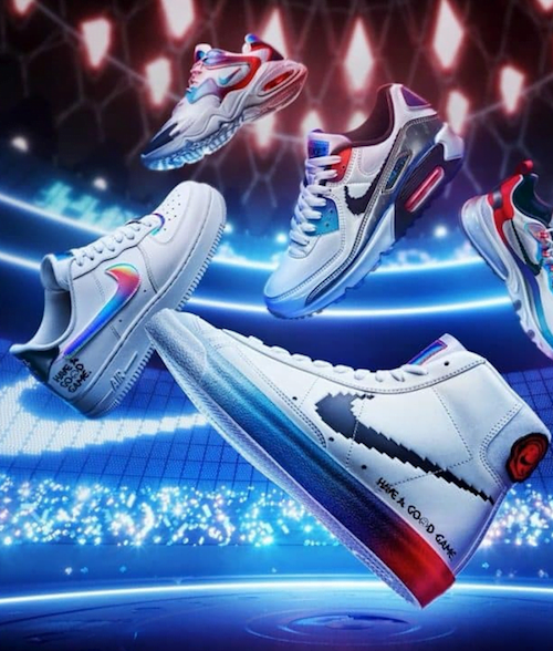 Sneakers originales de Nike x League of Legends