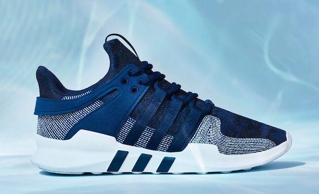 Les sneakers Adidas fabriquées à partir de plastique collecté dans les océans