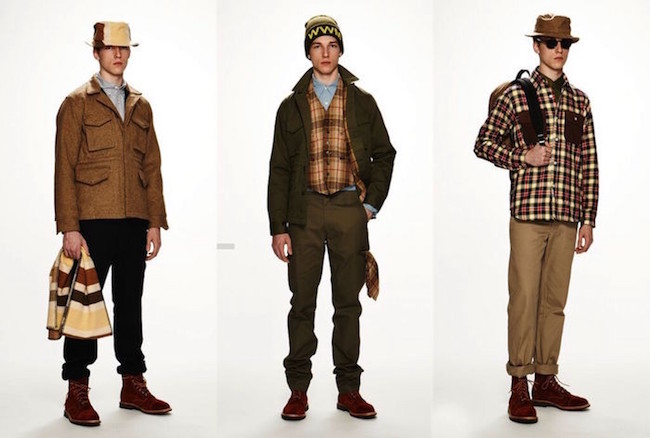 Le look workwear homme