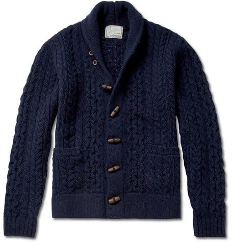 Cardigan grosse maille en laine