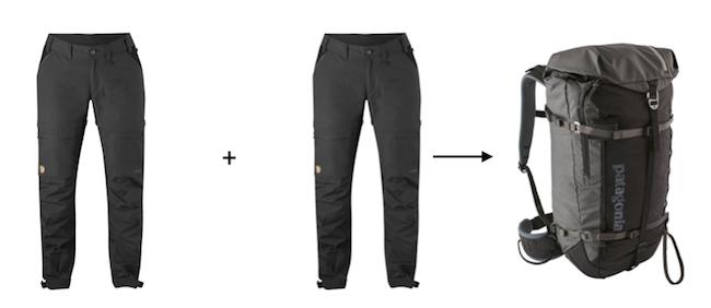 Combien de pantalons emporter en randonnée
