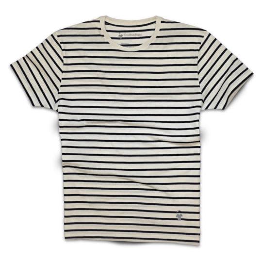 Le T-shirt marinière de GoudronBlanc