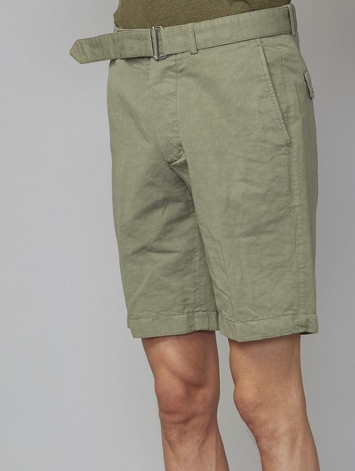 Short en coton et lin de la marque Officine Générale