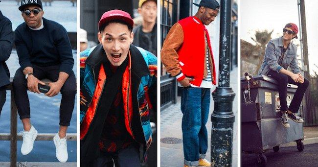 Casquette - Look streetwear homme