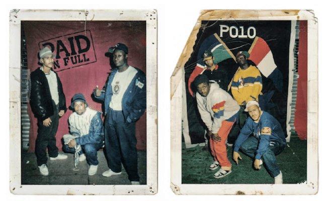 Exemples de looks streetwear vers la fin des années 80
