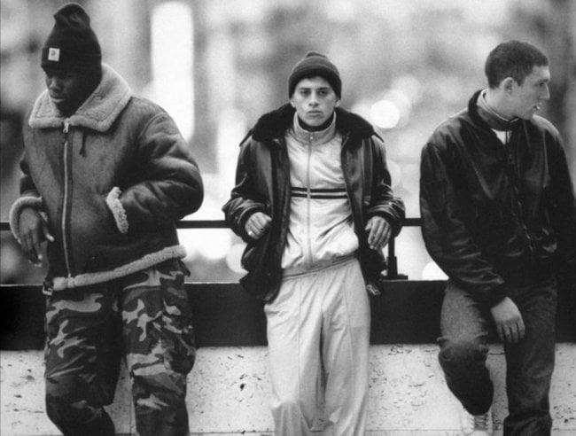 Le film La Haine a rendu le streetwear populaire en France (1995)