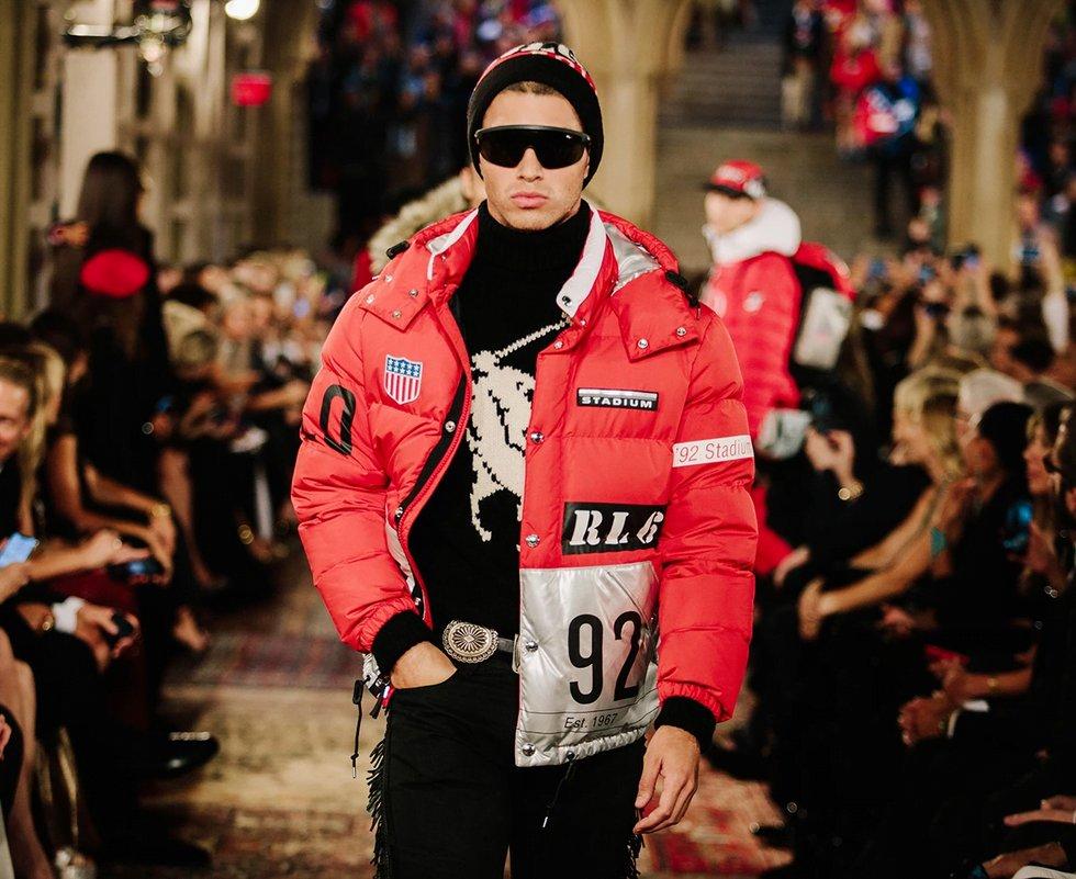 Vêtement streetwear de Ralph Lauren