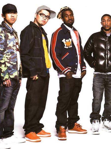 Le streetwear japonais a été marqué par des influences du hip-hop américain (Bape 2008)