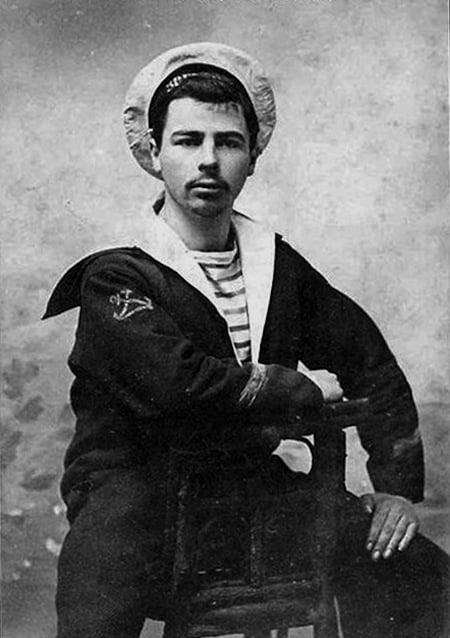 Histoire de la mariniere - Marin en 1910