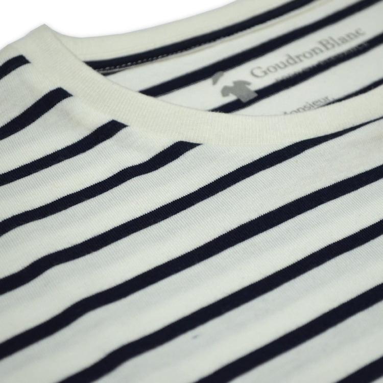 Tissu coton - T-shirt marinière