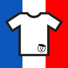 T-shirt français - Icone