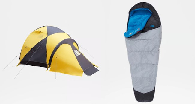 The North Face a été l'inventeur de nombreuses améliorations de l'équipement de randonnée.