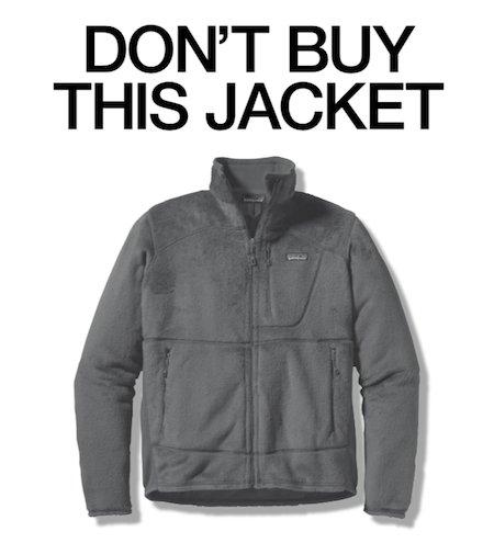 Cette publicité de Patagonia a donné à la veste polaire une image de vêtement responsable