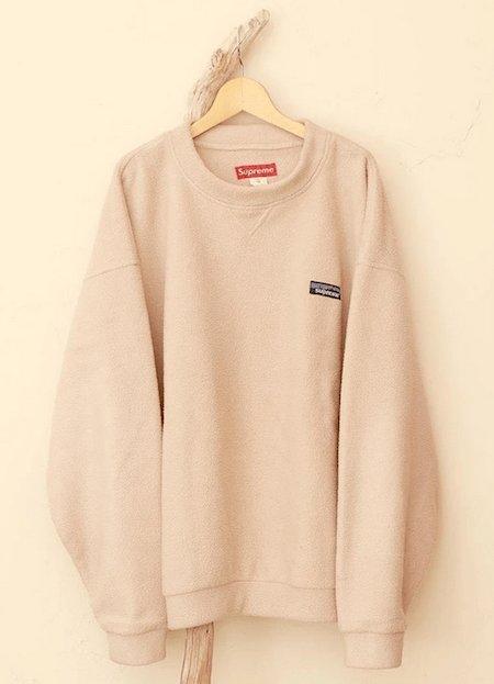 Sweatshirt en polaire de la marque Patagonia/Supreme