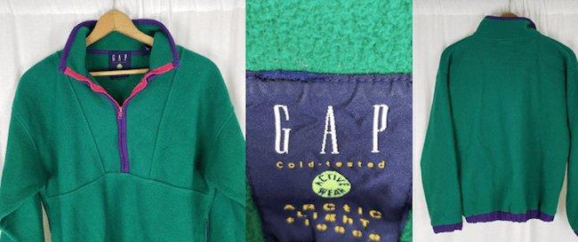 Veste polaire vintage - Marque Gap